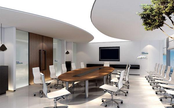 2) 运用智能家具设计理念, 多功能设计, 提高办公效率.