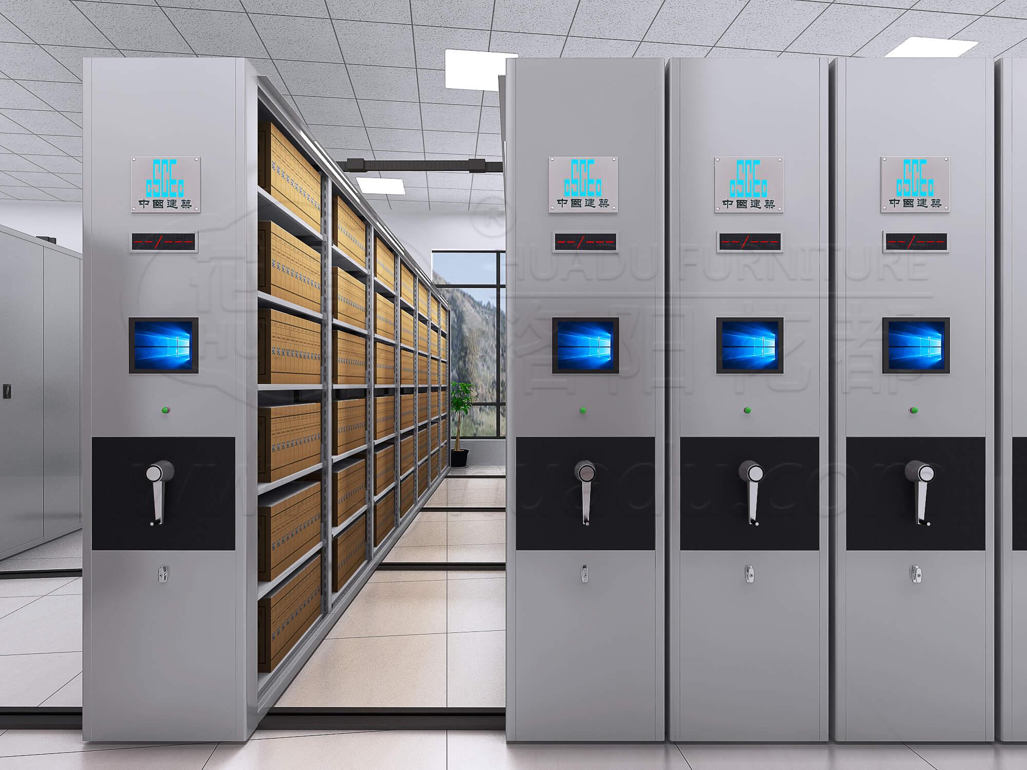 智能型底圖密集檔案柜品牌有什么特點?
